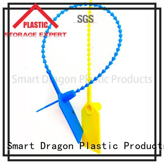 Custom temper plastic bag security seal seal SMART DRAGON