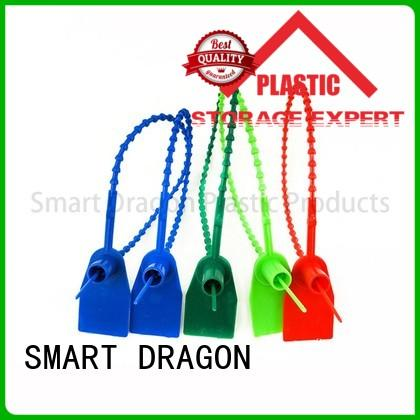 Quality SMART DRAGON Brand tank plastic bag security seal pp 210mm