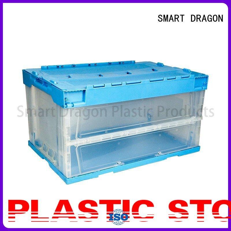 SMART DRAGON Brand storage turnover crate box supplier