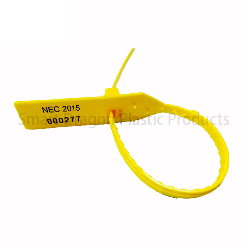 SMART DRAGON-Best Total Length 295mm Security Pull Tight Plastic Seal Security Seals