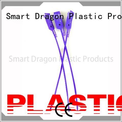Wholesale length standard plastic bag security seal SMART DRAGON Brand