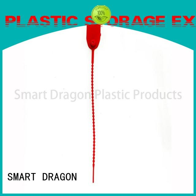 SMART DRAGON locking numbered plastic security seals tatol for voting box