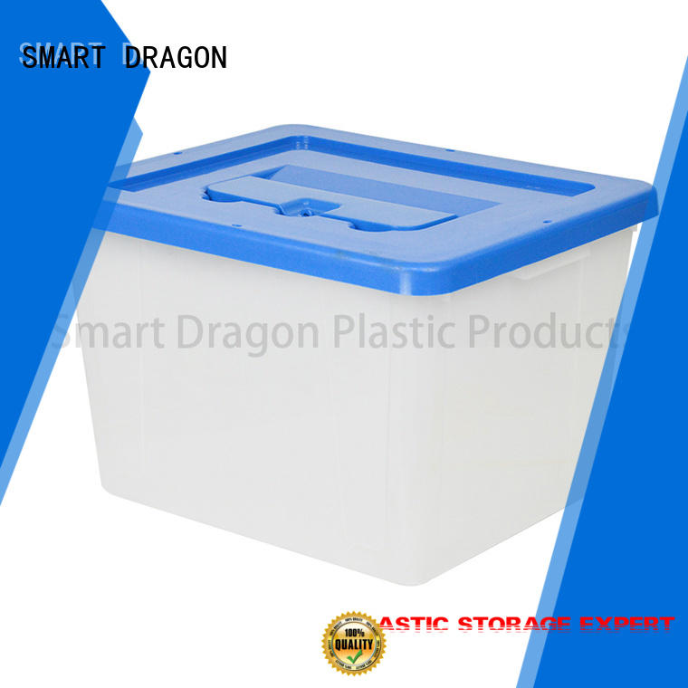 SMART DRAGON Brand recyclable 40l50l60l plastic products pp factory