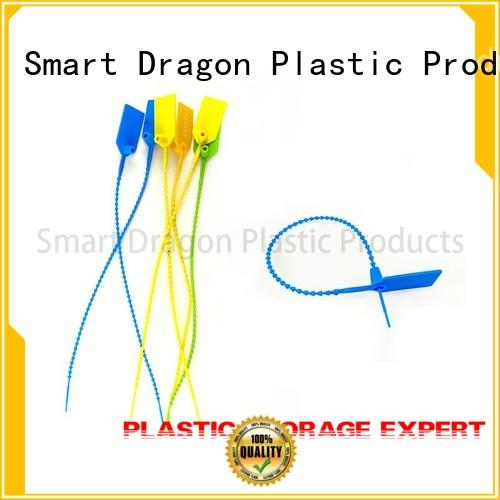 pp material plastic safety seal pull for voting box