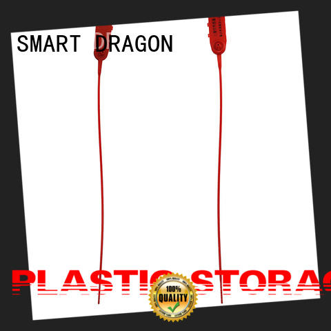 SMART DRAGON traffic plastic container seal disposable for ballot box