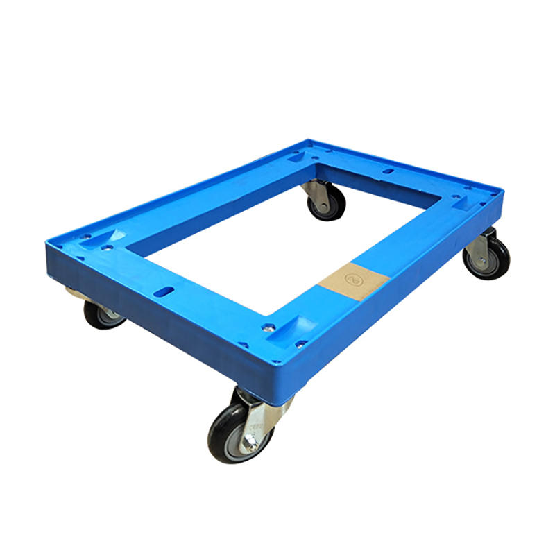 SMART DRAGON-Professional Plastic Moving Dolly Four Pp Wheel Trolley Supplier-1