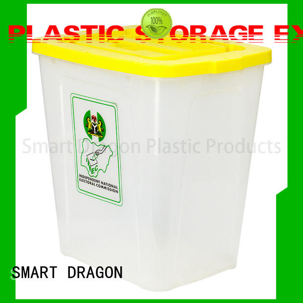lock recyclable ballot boxes lid for election SMART DRAGON