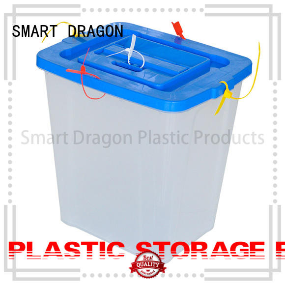 pp donation boxes for sale lock for election SMART DRAGON
