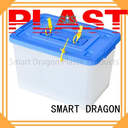 transparent ballot box company hard SMART DRAGON company