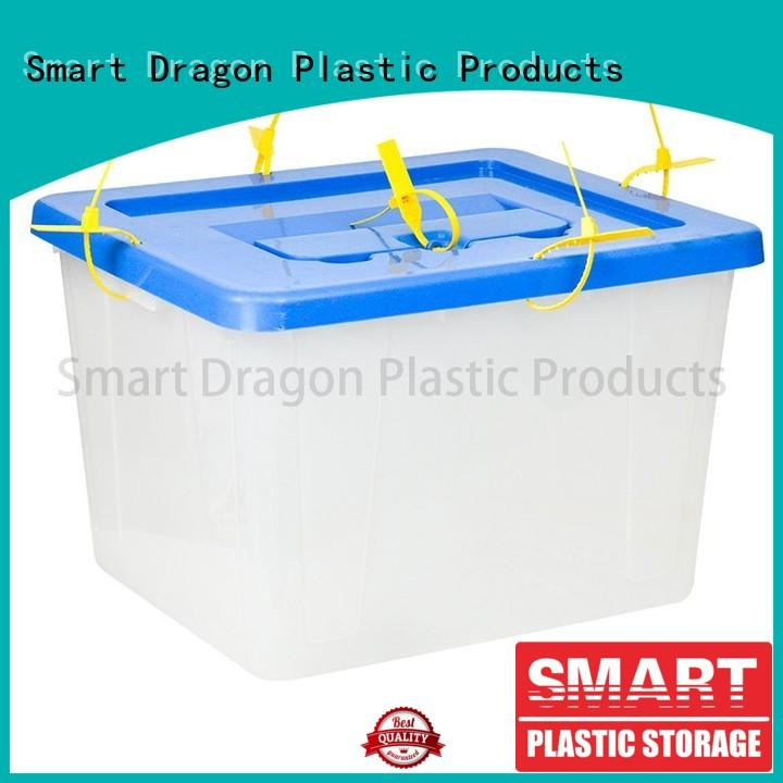SMART DRAGON storage clear ballot box for sale for election