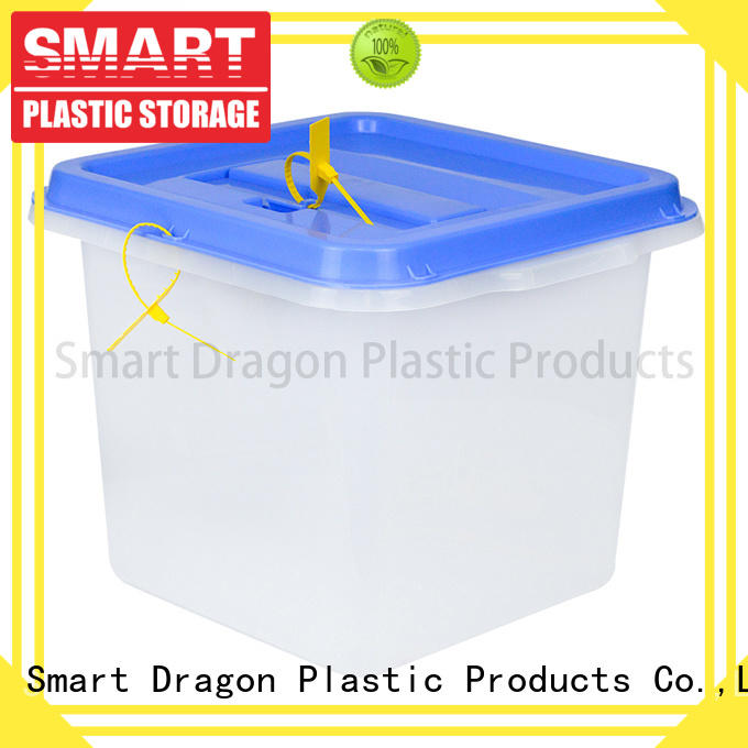 SMART DRAGON hard floor standing ballot box manufacturers for election