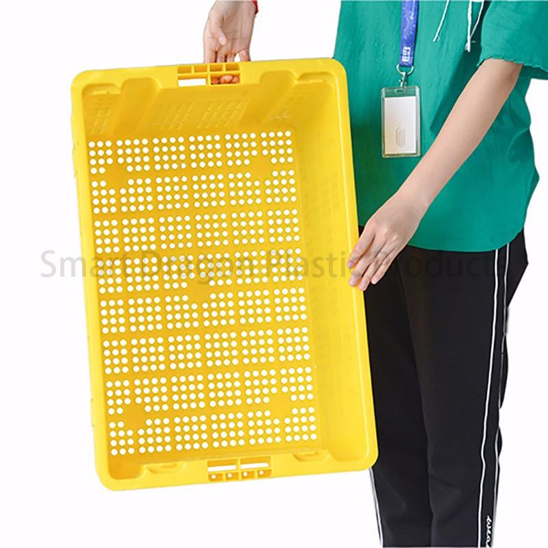 SMART DRAGON turnover turnover crate with lid free sample for supermarket-1