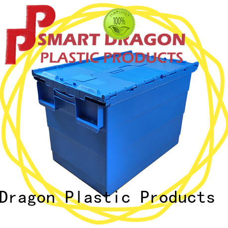 durable turnover crate stack for supermarket SMART DRAGON