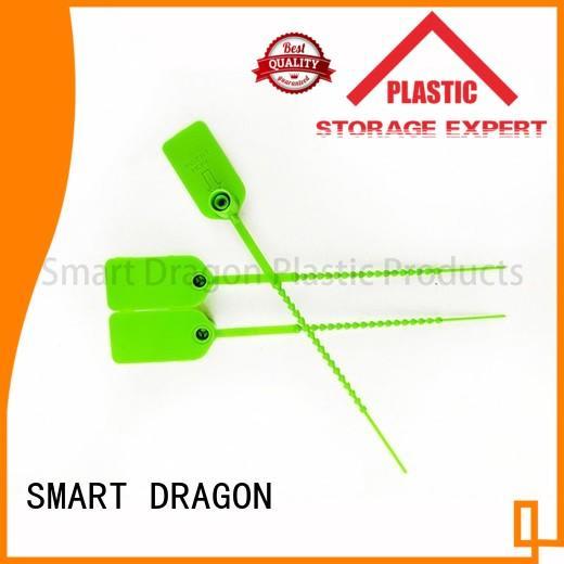 selflocking standard plastic bag security seal box temper SMART DRAGON company