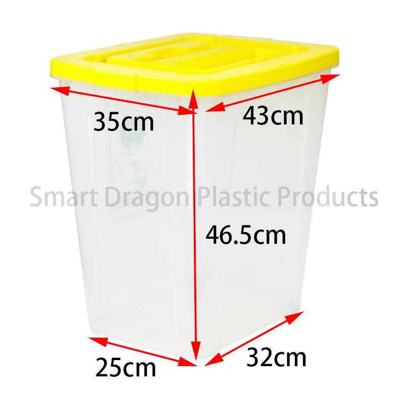 SMART DRAGON-50l-60l Plastic Ballot Boxes In Polypropylene | Large Ballot Box Factory-2