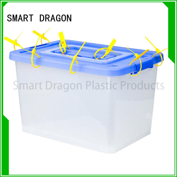 SMART DRAGON thick base clear ballot box x405cm for election