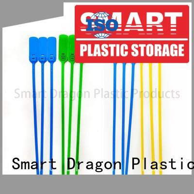 SMART DRAGON special processing high security truck seals 230mm for packing