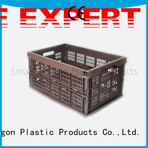 food perforated crates for sale plastic collapsible SMART DRAGON Brand