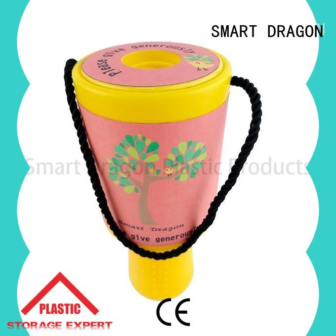 SMART DRAGON acrylic donation collection boxes popular for charity collection
