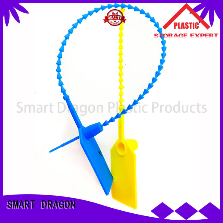 Hot box plastic bag security seal proof adjustable SMART DRAGON Brand