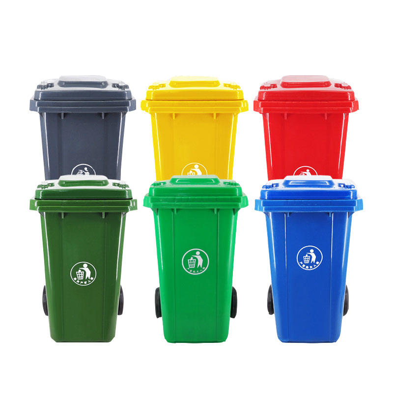 Customized Plastic Trash Can Dust Bin Dustbin Garbage Waste Bin-1