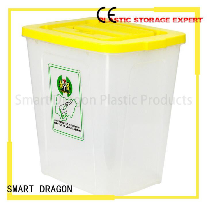 disposable bottom seal SMART DRAGON Brand ballot box company factory