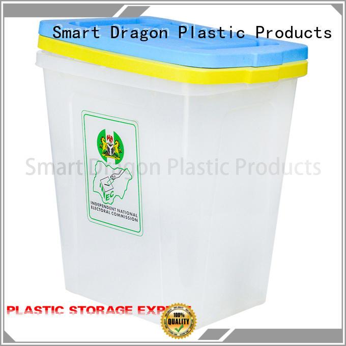 ballot box company 40l50l60l seal SMART DRAGON Brand plastic products