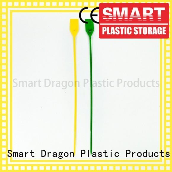 serial plastic pp tight SMART DRAGON Brand plastic bag security seal supplier