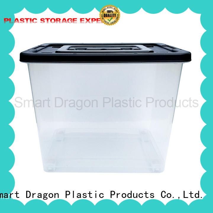 65L Transparent Plastic Ballot Election Vote Box Voting Bin
