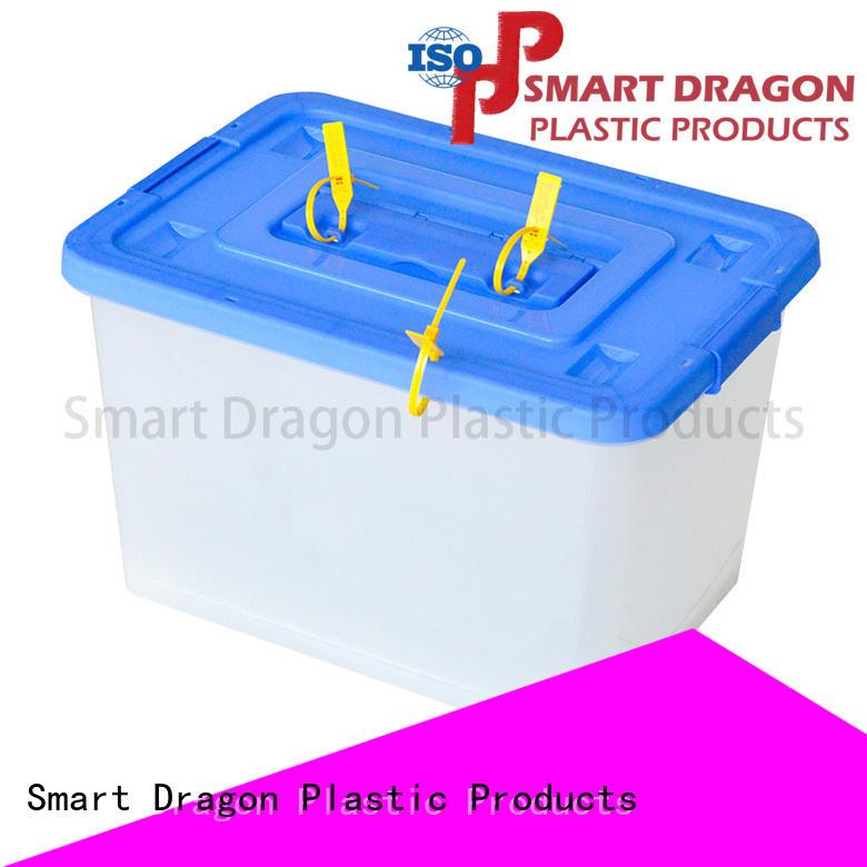 top polypropylene ballot box with lock lock for election SMART DRAGON
