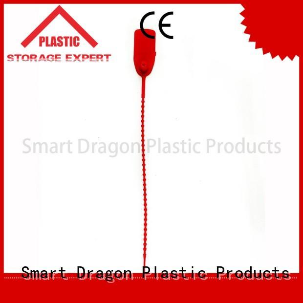 colored serial 180mm plastic bag security seal SMART DRAGON