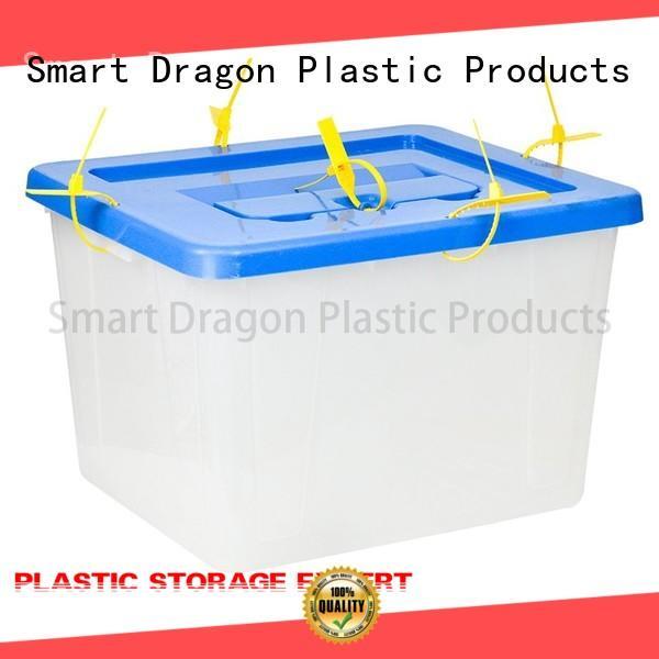 polypropylene ballot box Jordan colored for election SMART DRAGON
