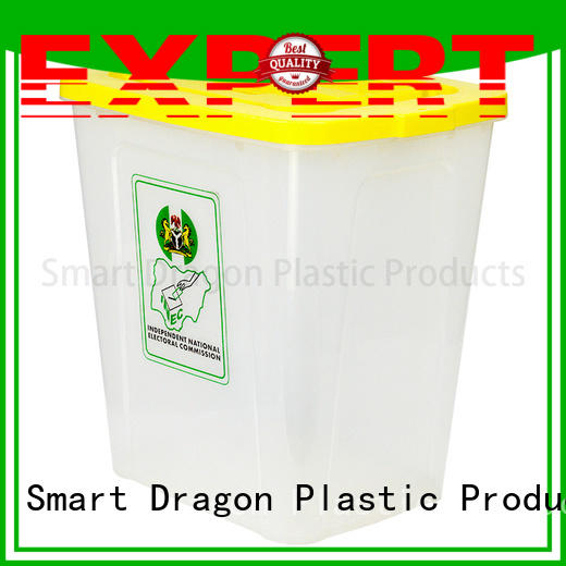 SMART DRAGON Brand vote polypropylene ballot box company clear supplier