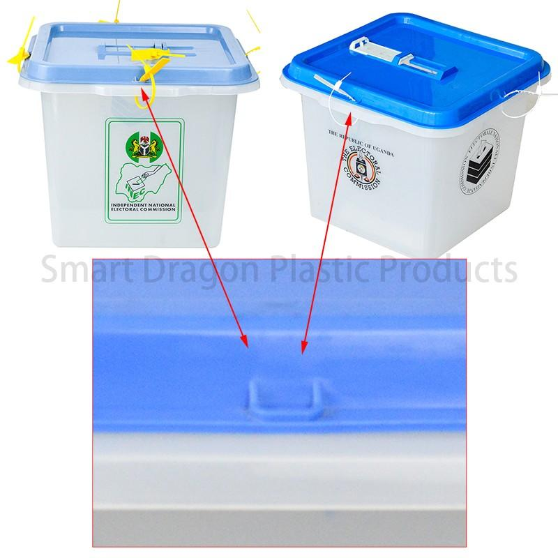 SMART DRAGON-High-quality Pp Material 45l-55l Plastic Ballot Boxes For Election Factory-1