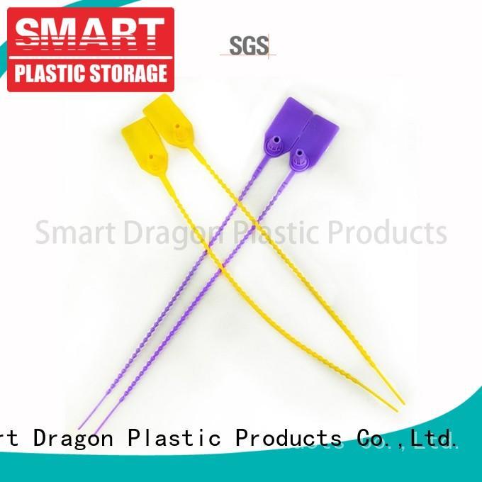 high-quality plastic locks tamper proof tamper for voting box SMART DRAGON