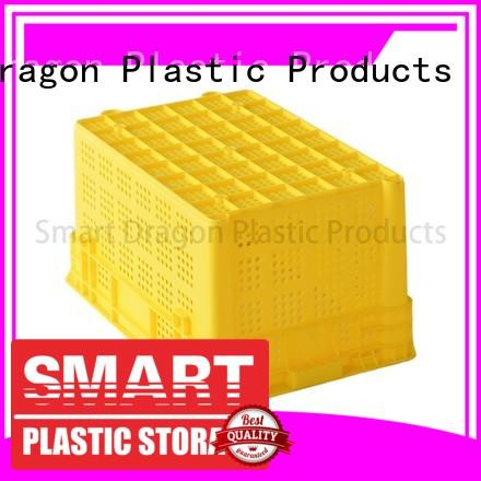 turnover crate folding stack storage plastic turnover boxes manufacture