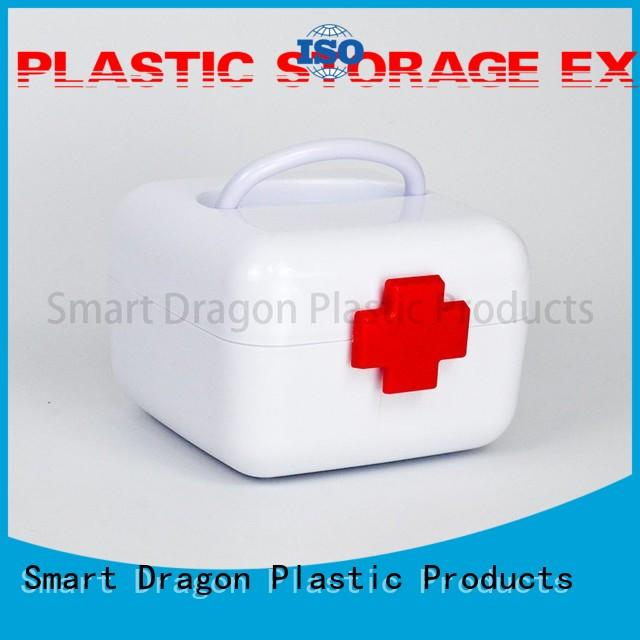 bulk production plastic medicine box pp material disposable for travel