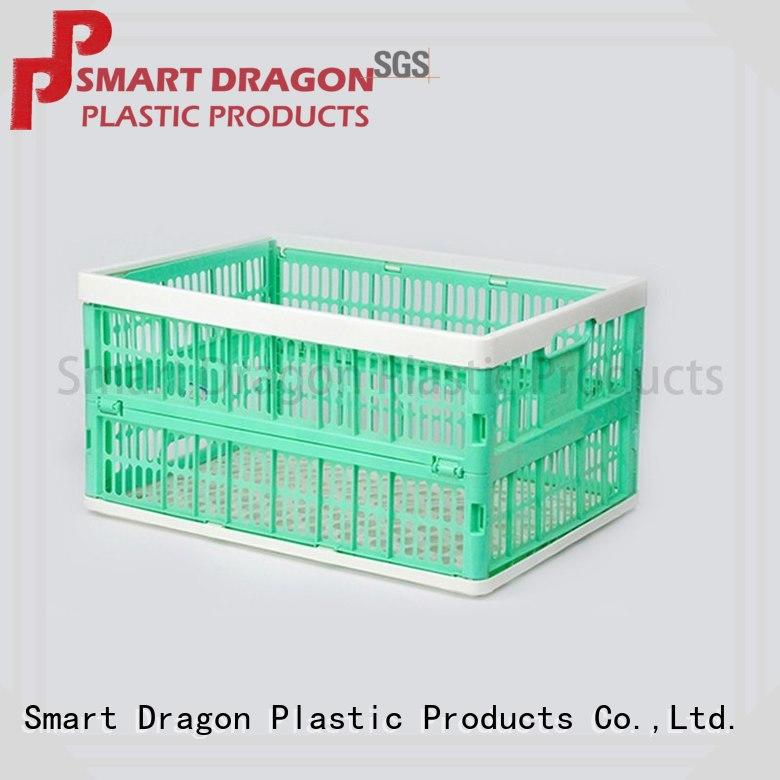 SMART DRAGON cheap plastic folding baskets Suppliers for farm