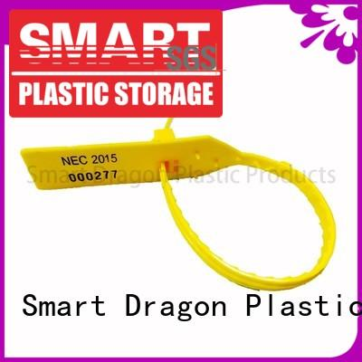 SMART DRAGON Brand pull fire temper custom high security truck seals