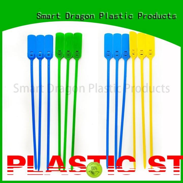 SMART DRAGON Brand printed tie serial tear plastic bag security seal