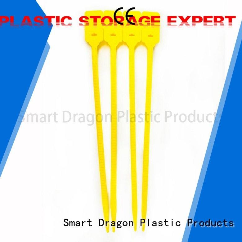 tie 210mm plastic bag security seal colored SMART DRAGON