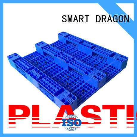 Heavy Duty 1300x1100 Flat Pallet Single Face Plastic Pallet