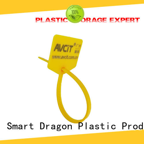 special processing tamper proof plastic seals proof for packing SMART DRAGON