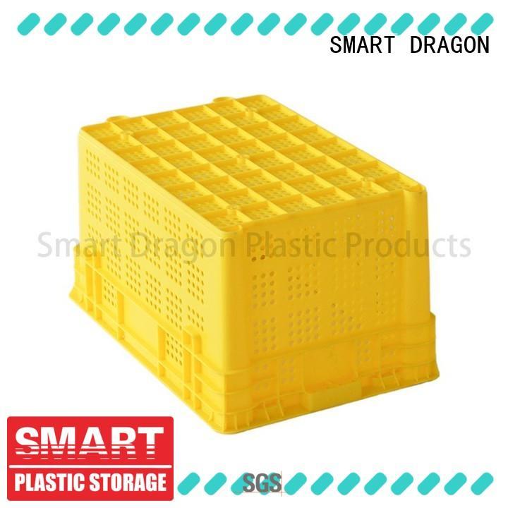 folding plastic crates for supermarket