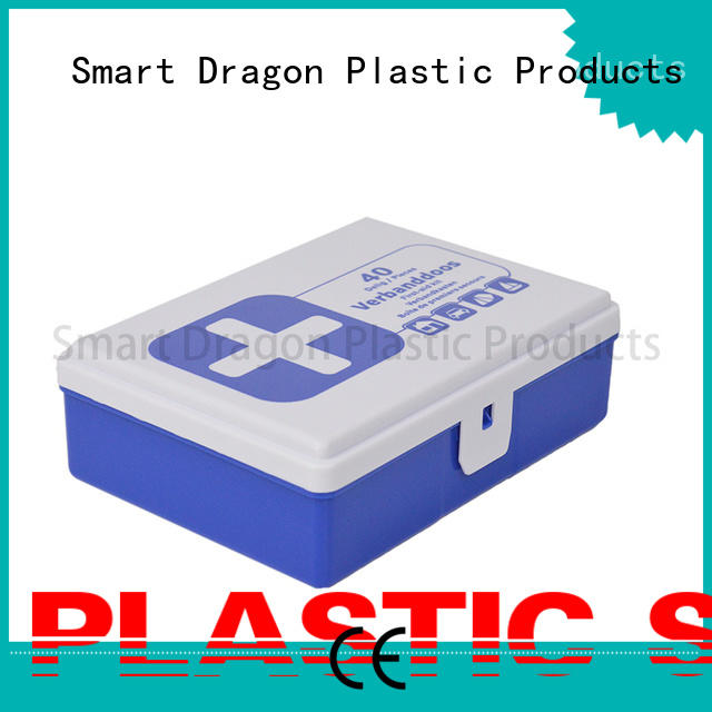 SMART DRAGON pp material first aid box online disposable for pharmacy